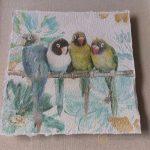 Parrots-On-Tree-Print-Shadow-Box-Glass-Wall-Art-3