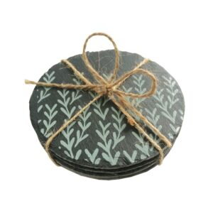 Blue Tree Slate Coasters