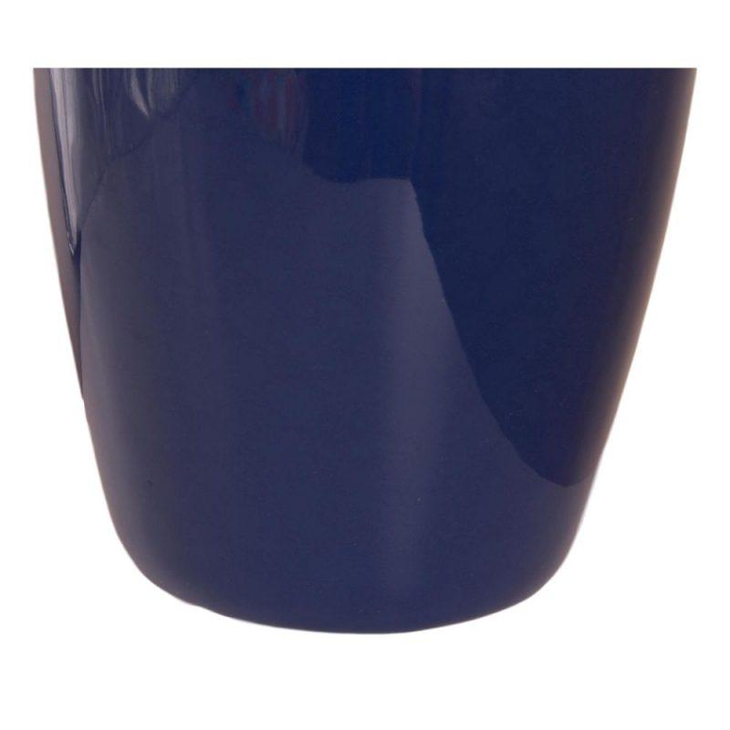 Tall Navy Blue Ceramic Floor Vase 41cm Dalisay
