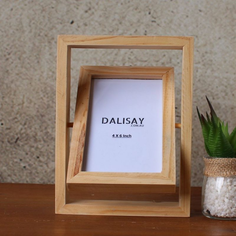 Natural Moveable Photo Frame