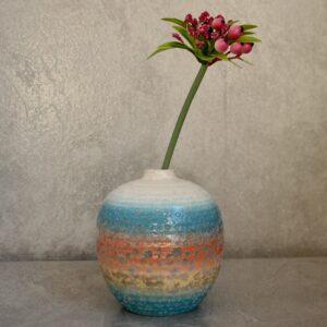 Rainbow Ceramic Bud Flower Vase