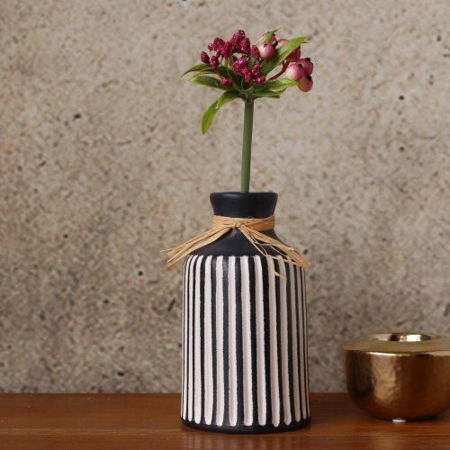 Tribal Monochrome Tribal Vase
