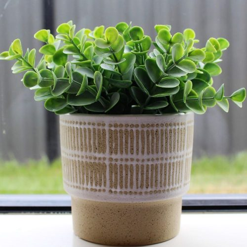 Tribal safari Yellow Planter
