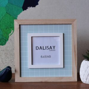 White Square Photo Frame