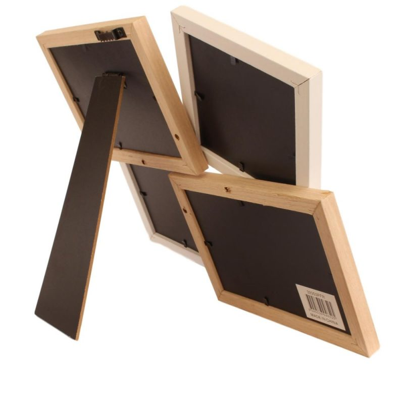 Wood Effect Multi Photo Frame
