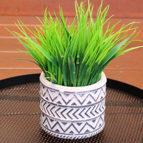 Black and White Tribal Planter (8)