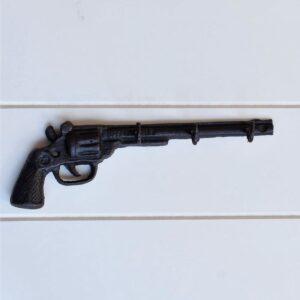 Cast Iron Gun Keyrack Hooks Ornament