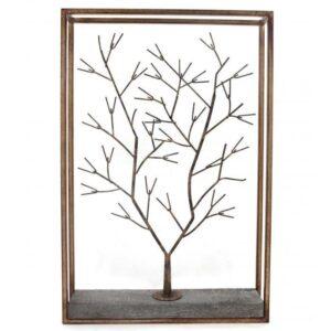 Winter Tree Metal Wall Art