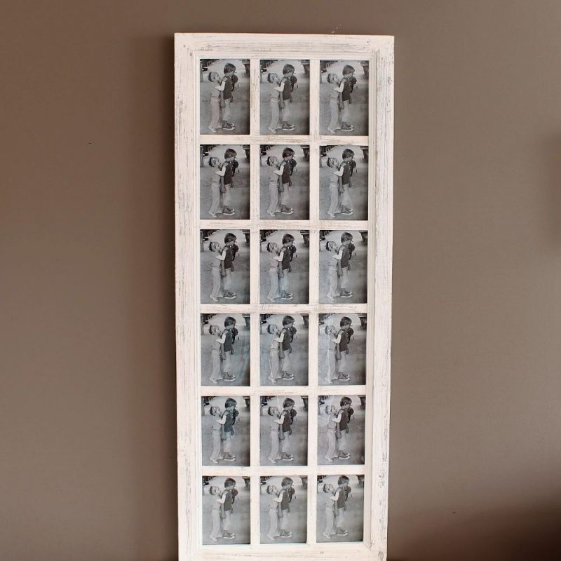 18 In 1 Multi Collage Wooden Photo Frame
