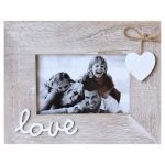 3 In 1 Live Laugh Love Wooden Multi Photo Frame_3