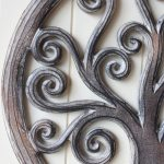 Hand Carved Tree Of Life Wooden Wall Art (2)