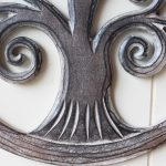 Hand Carved Tree Of Life Wooden Wall Art (3)