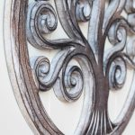 Hand Carved Tree Of Life Wooden Wall Art (4)