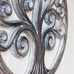 Hand Carved Tree Of Life Wooden Wall Art (5)