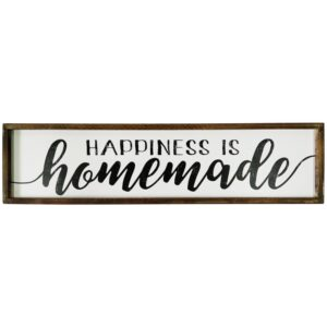 Rustic Framed Farmhouse Sign Wooden Wall Art