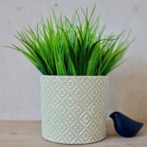 Moroccan Lime Green Terracotta Pot Planter