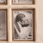 9 In 1 Rustic White Hessian Wall Photo Picture Frame_4