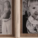 9 In 1 Rustic White Hessian Wall Photo Picture Frame_6