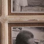 9 In 1 Rustic White Hessian Wall Photo Picture Frame_7