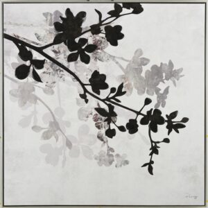 Floral Milly Framed Canvas Print Wall Art