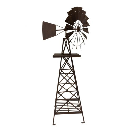 Extra Large Rustic Metal Decorative Garden Windmill