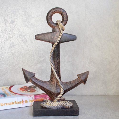 Nautical Boat Ship Anchor Coastal Resin Figurine