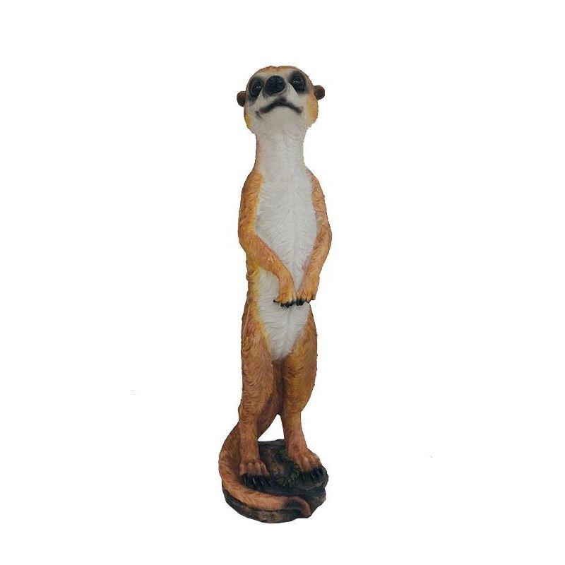 Standing Meerkat Resin Animal Figurine