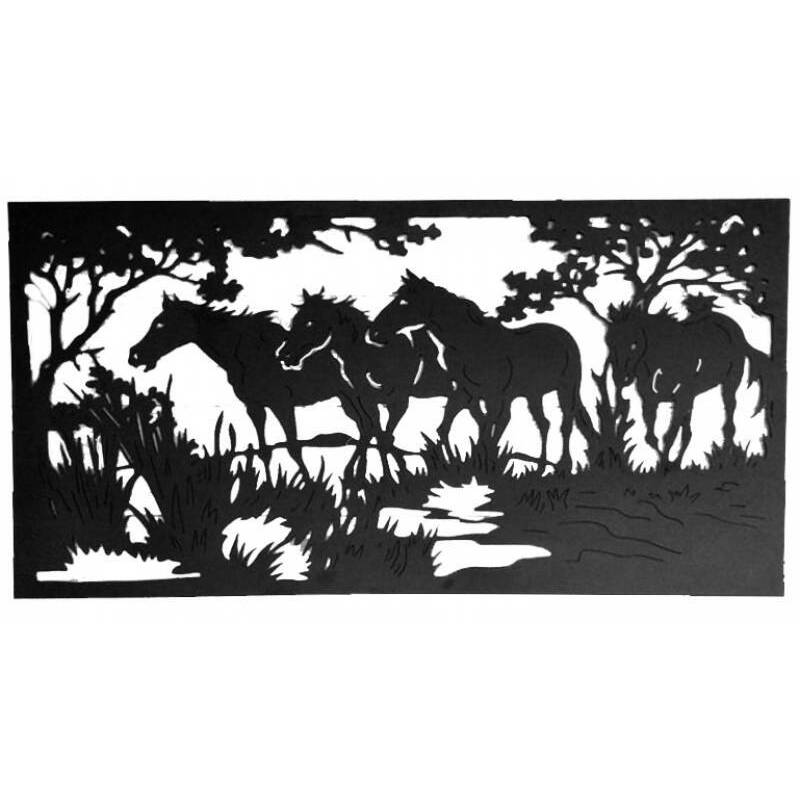 Horse Metal Wall Art