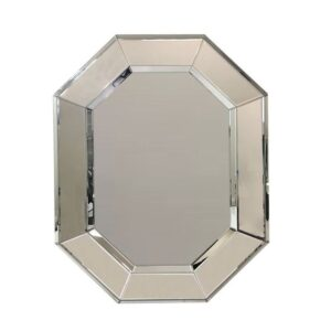 Large Octagon Wall Mirror - Modern Style Hanging Mirror