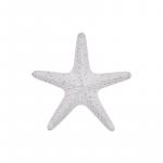 Large White Sea Ocean Starfish Metal Wall Art
