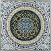 Moroccan Mandala Framed Canvas Print Wall Art