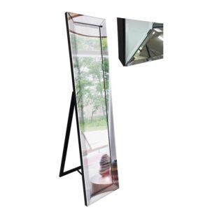 Silver Cheval Mirror On Mirror Dressing Floor Mirror