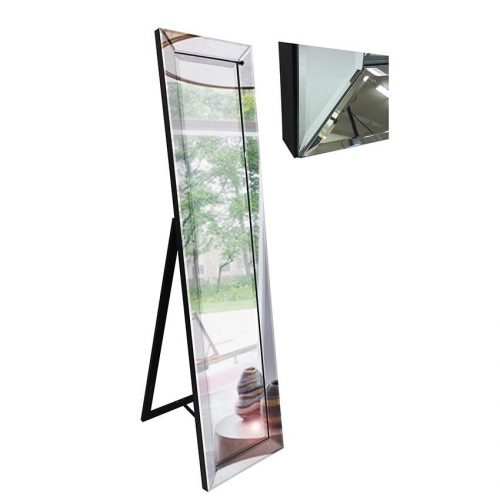 Silver Cheval Mirror On Mirror Dressing Floor Mirror