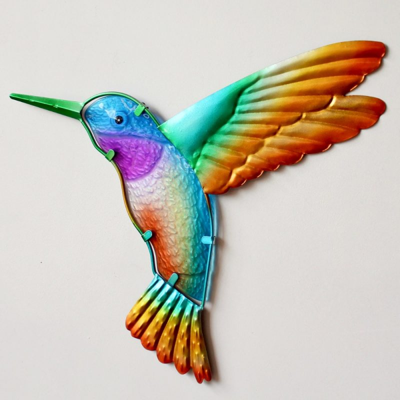 Hummingbird Metal Wall Art