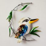 Kookaburra Metal Wall Art