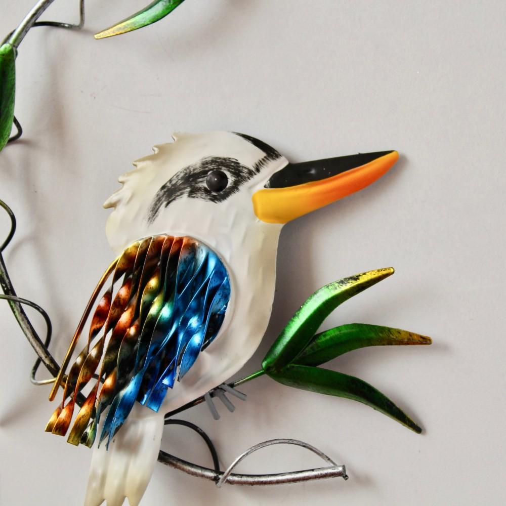 Kookaburra Metal Wall Art Australian Bird Hanging Decor ...