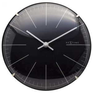 Black Mini Dome NeXtime Silent Table Clock
