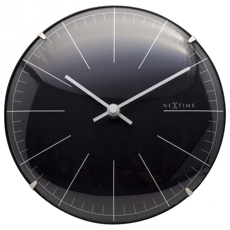 Black Mini Dome NeXtime Silent Table Clock