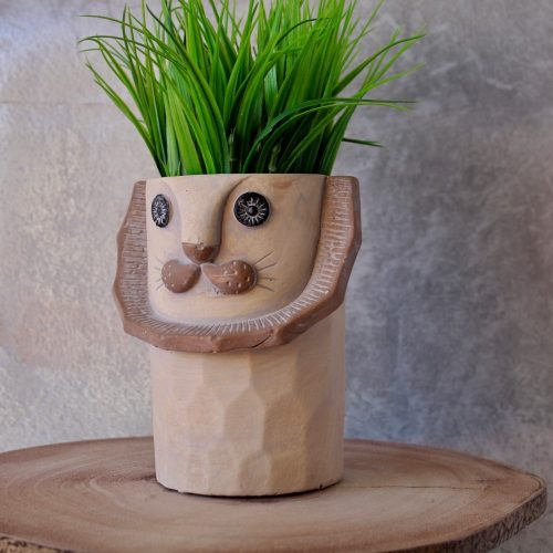 Ceramic Lion Planter
