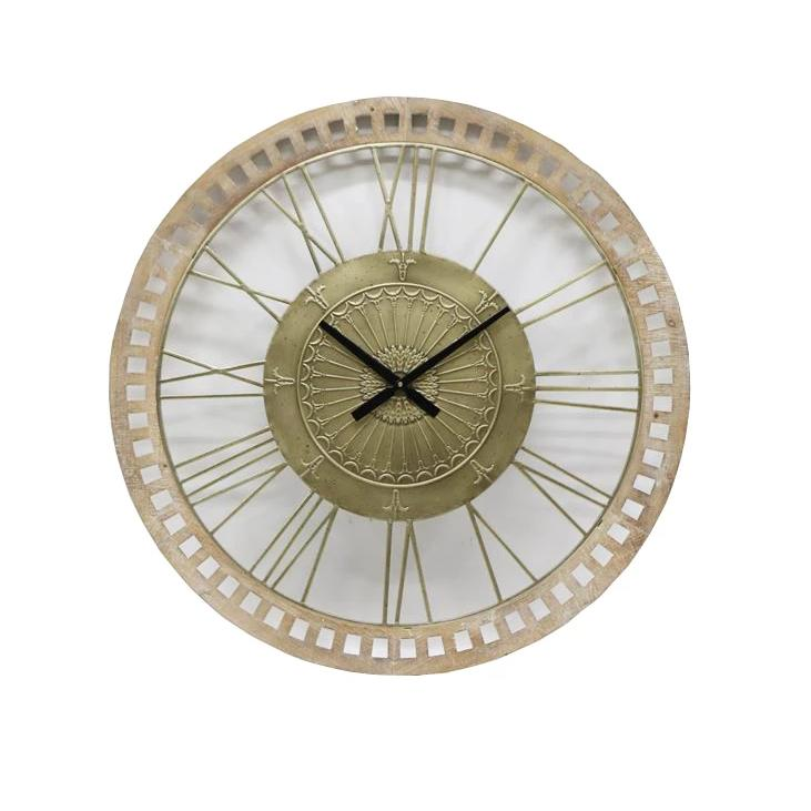 Extra Large Fleur French Wall Clock
