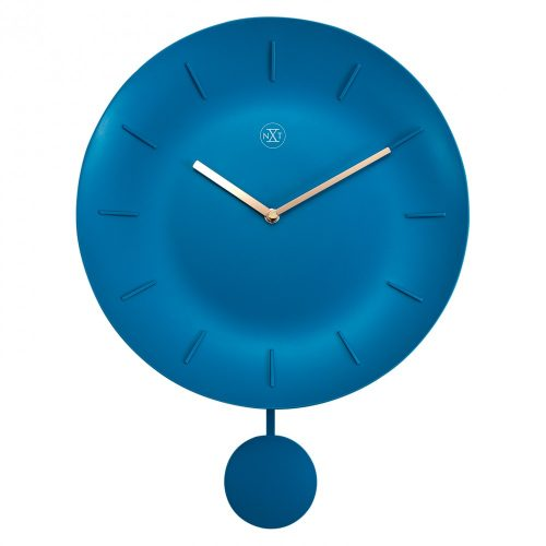NeXtime Bowl Wall Clock with Pendulum