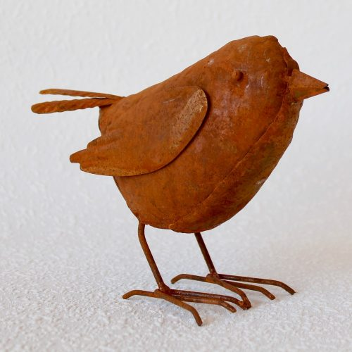 Rustic Bird Garden Statue Figurine