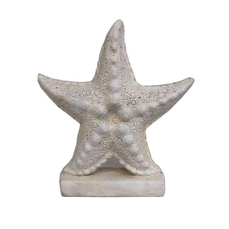 Set of 2 Starfish Resin Sculpture Statue