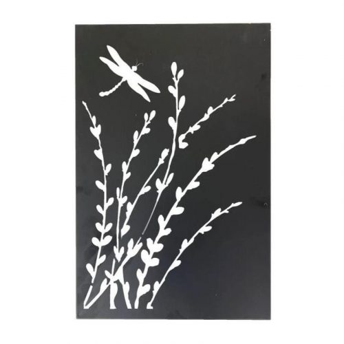 Dragonfly Metal Art Laser Cut Wall Decor