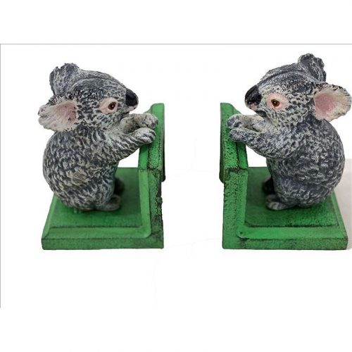Grey Koala Bookends
