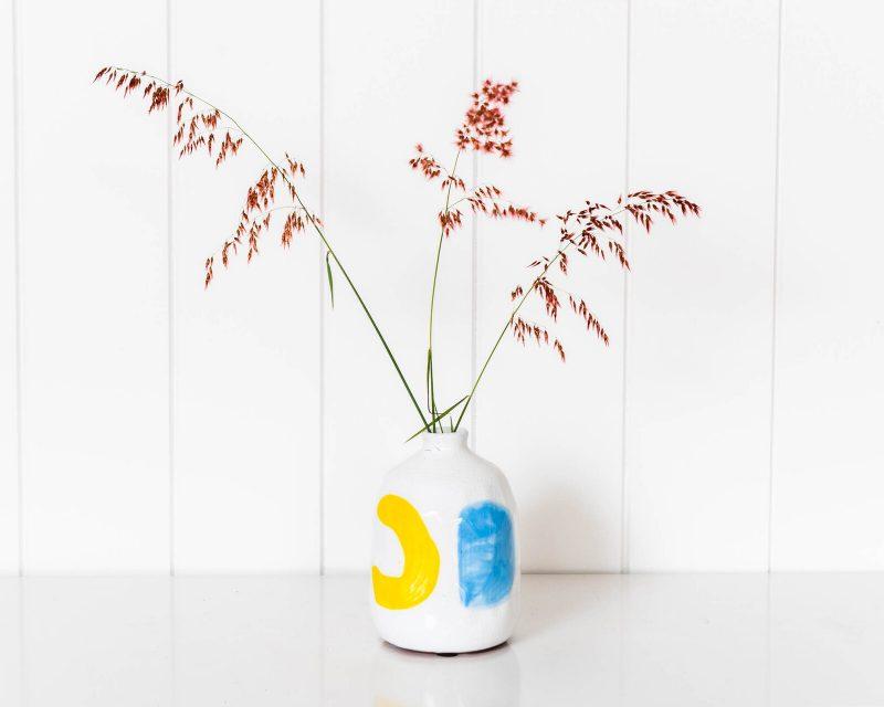 Modern Terracotta Bottle Vase