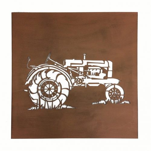 Tractor Metal Art Rustic Laser Cut Wall Decor