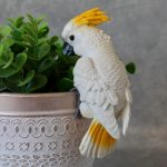 Australian Birds Pot Sitters Cockatoo 1