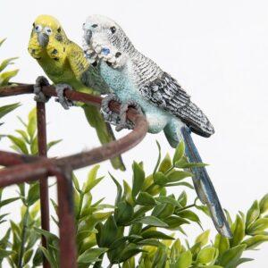 Australian Budgie Bird Pot Sitter - Set of 2