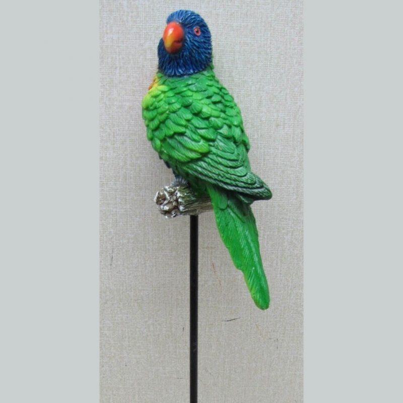 Australian Rainbow Lorikeet Parrot Bird Pot Sitter